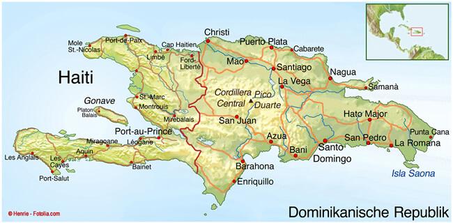 Naturkatastrophe in Haiti