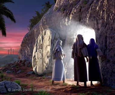 Ostern, Auferstehung mit Folgen