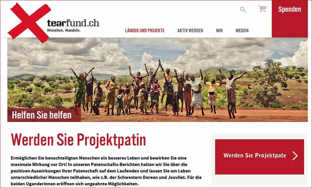 Kinderhilfswerk Patenschaft in Afrika