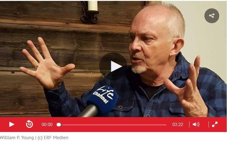 William P. Young im Interview mit Radio Life Channel